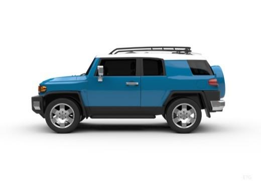 Toyota FJ Cruiser kombi boczny lewy