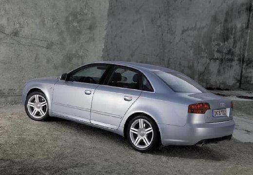 AUDI A4 8E II sedan silver grey tylny lewy