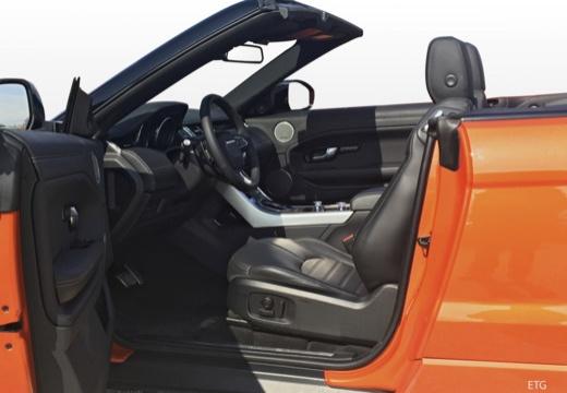 LAND ROVER Range Rover kabriolet wnętrze