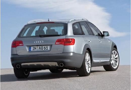 AUDI A6 Allroad II kombi silver grey tylny prawy