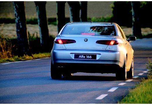 ALFA ROMEO 166 I sedan silver grey tylny
