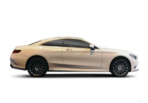 MERCEDES-BENZ Klasa S coupe boczny prawy