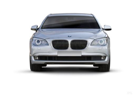 BMW Seria 7 F01 F02 I sedan silver grey przedni