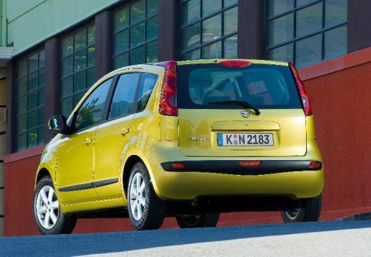 NISSAN Note hatchback złoty tylny lewy