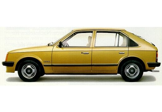 OPEL Kadett D 1.3 Hatchback 75KM (benzyna)