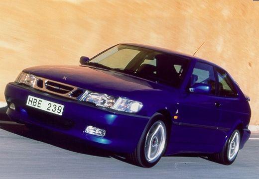 SAAB 9-3 I hatchback niebieski jasny przedni lewy