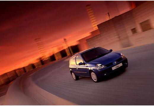 RENAULT Clio II II hatchback niebieski jasny przedni prawy