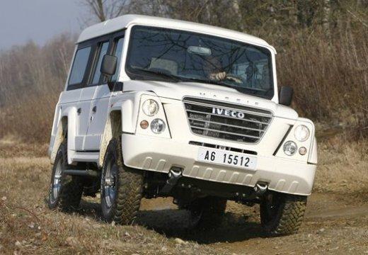IVECO Massif pickup biały przedni prawy