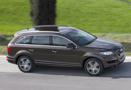 AUDI Q7 kombi silver grey przedni prawy