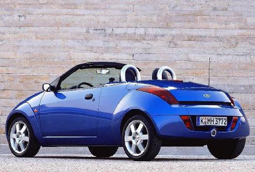 FORD Streetka roadster niebieski jasny tylny lewy