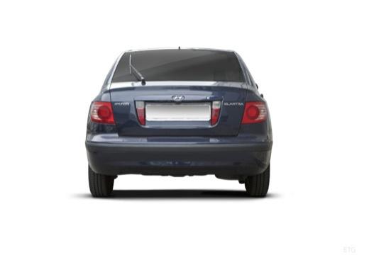 HYUNDAI Elantra II hatchback tylny