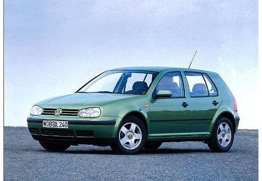 VOLKSWAGEN Golf IV hatchback zielony przedni lewy