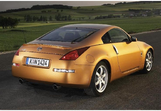 NISSAN 350 Z coupe złoty tylny prawy