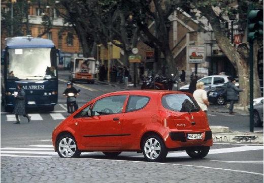 MITSUBISHI Colt V hatchback czerwony jasny tylny lewy