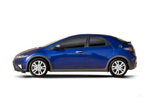 HONDA Civic VI hatchback boczny lewy