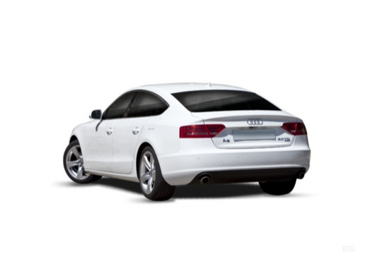 AUDI A5 Sportback I hatchback tylny lewy