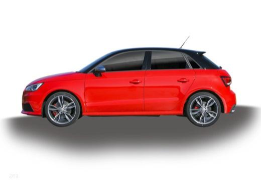 AUDI A1 Sportback II hatchback boczny lewy
