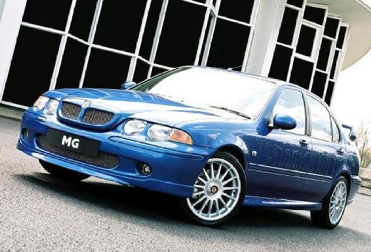 MG ZS I sedan niebieski jasny przedni lewy