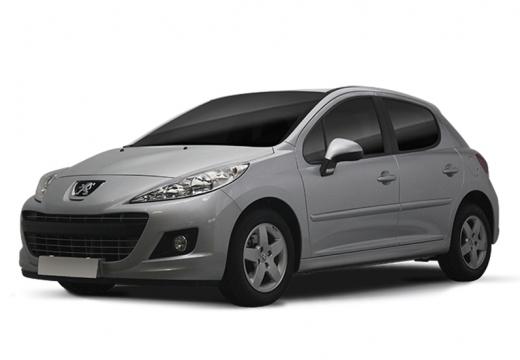 PEUGEOT 207 II hatchback silver grey