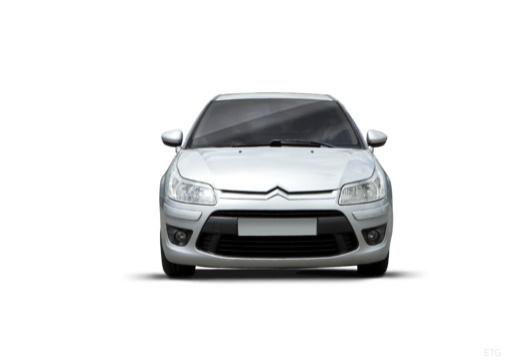 CITROEN C4 II hatchback silver grey przedni
