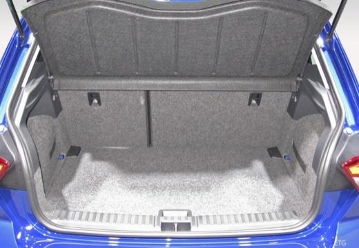 SEAT Ibiza hatchback przestrzeń załadunkowa