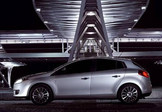 FIAT Bravo II hatchback silver grey boczny lewy