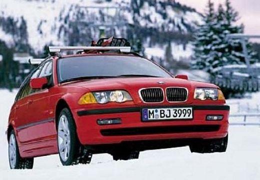 BMW Seria 3 Touring E46 kombi czerwony jasny przedni prawy