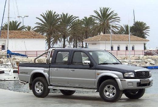 MAZDA B-seria pickup szary ciemny przedni prawy