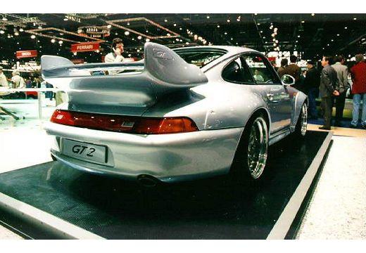 PORSCHE 911 coupe tylny prawy