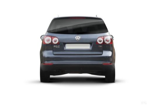 VOLKSWAGEN Golf VI Plus hatchback szary ciemny tylny