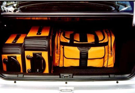 OPEL Astra II sedan silver grey przestrzeń załadunkowa