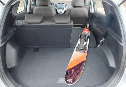HYUNDAI ix20 I hatchback przestrzeń załadunkowa