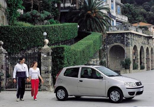 FIAT Punto II II hatchback silver grey przedni prawy