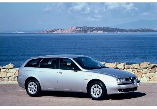 ALFA ROMEO 156 Sportwagon I kombi silver grey przedni prawy