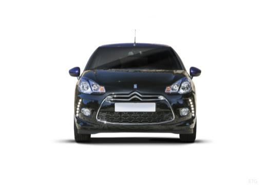 CITROEN DS3 Cabrio kabriolet czarny przedni
