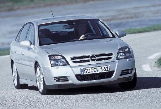OPEL Vectra C I hatchback silver grey przedni prawy