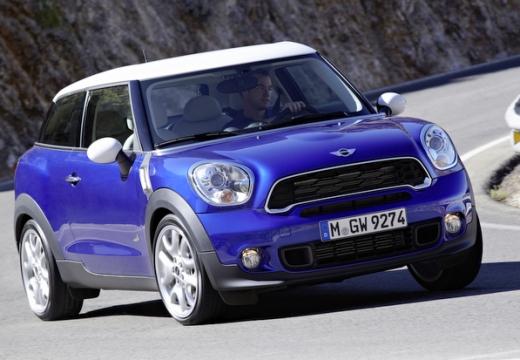 MINI [BMW] Paceman hatchback niebieski jasny przedni prawy