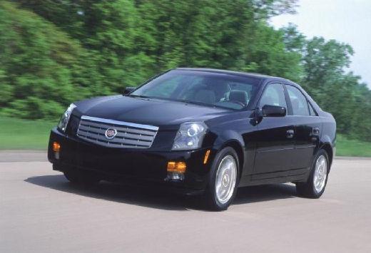 CADILLAC CTS sedan czarny przedni lewy