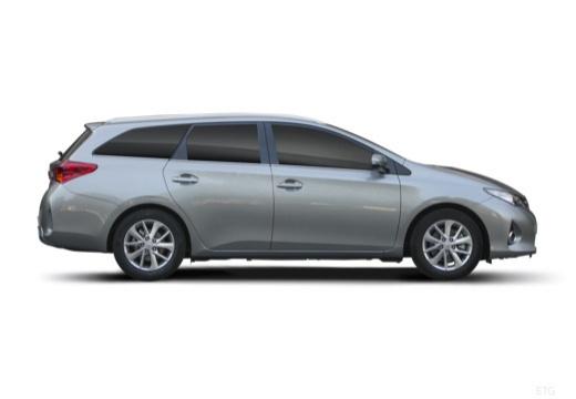 Toyota Auris kombi szary ciemny boczny prawy