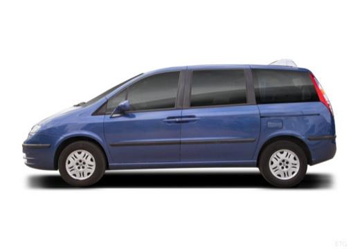 FIAT Ulysse van niebieski jasny boczny lewy
