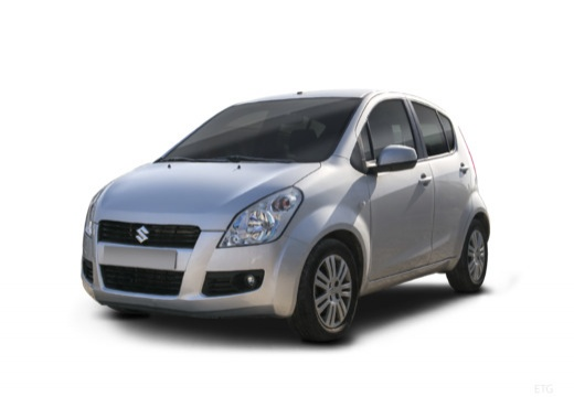 SUZUKI Splash I hatchback silver grey