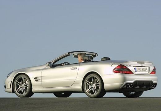 MERCEDES-BENZ Klasa SL SL 230 III roadster silver grey tylny lewy