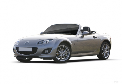 MAZDA MX-5 roadster silver grey