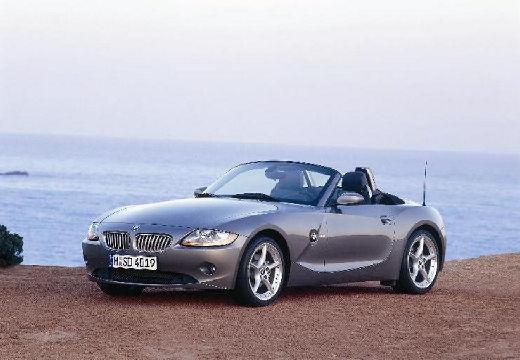 BMW Z4 E85 I roadster szary ciemny przedni lewy