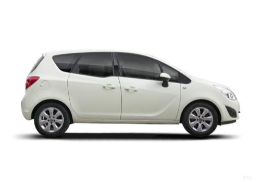 OPEL Meriva III hatchback boczny prawy
