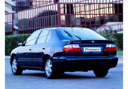 NISSAN Primera hatchback czarny tylny lewy