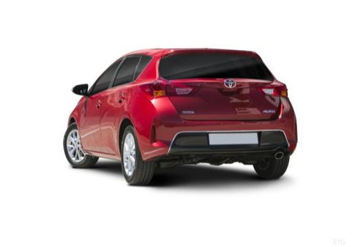 Toyota Auris I hatchback czerwony jasny tylny lewy
