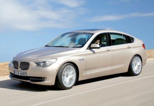 BMW Seria 5 Gran Turismo hatchback beige przedni lewy