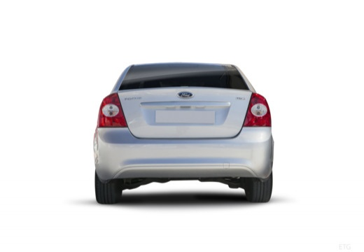 FORD Focus IV sedan silver grey tylny