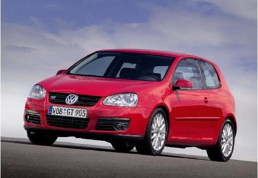 VOLKSWAGEN Golf V hatchback czerwony jasny przedni lewy